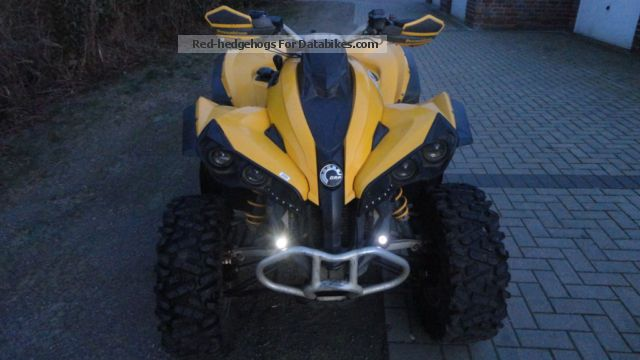 2008 Bombardier  Can AM 500 RENEGADE Motorcycle Quad photo