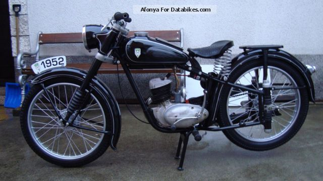 Mz  125 1952 Vintage, Classic and Old Bikes photo