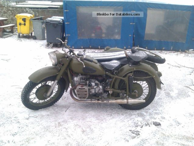 Ural  K 650, K 750, M 72, Molotov 1971 Vintage, Classic and Old Bikes photo