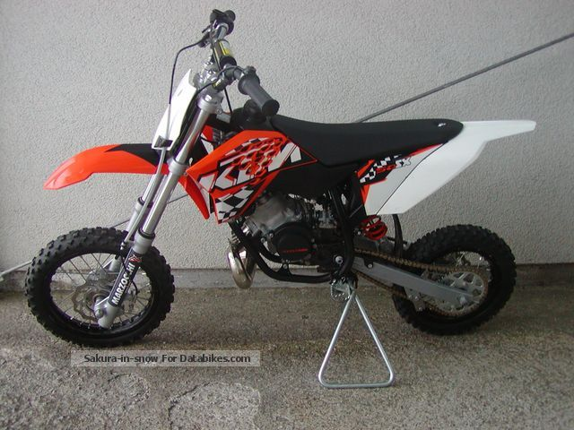 2011 KTM  50 SX, Model 2011 Motorcycle Motor-assisted Bicycle/Small Moped photo