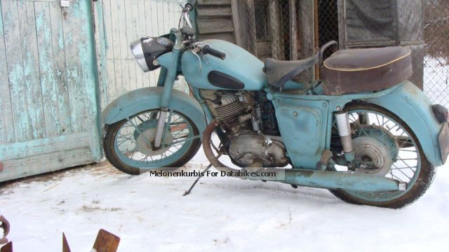 DKW  izh-56 1958 Vintage, Classic and Old Bikes photo