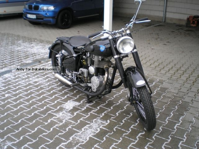 1951 NSU  consul Motorcycle Motorcycle photo