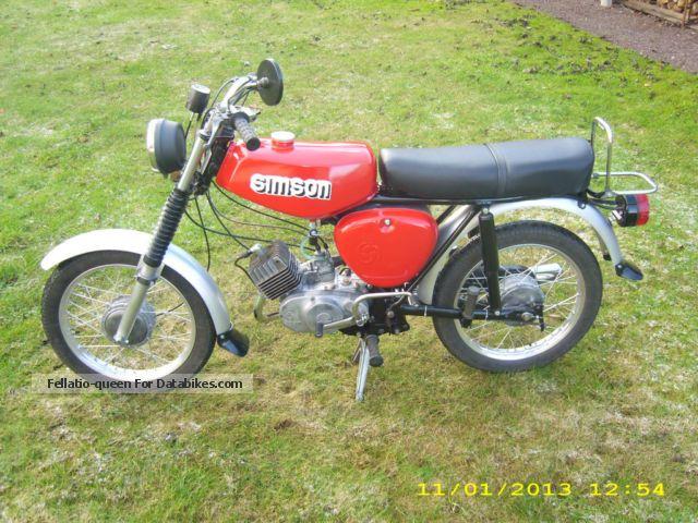 1980 Simson S50 N