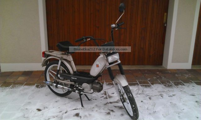 1997 Hercules  Prima 4 Automatic Motorcycle Motor-assisted Bicycle/Small Moped photo