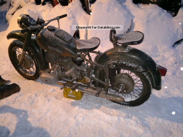 Ural  K650 1971 Vintage, Classic and Old Bikes photo