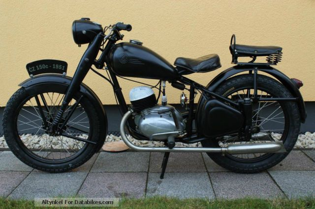 Jawa  CZ 150c 1951 Vintage, Classic and Old Bikes photo