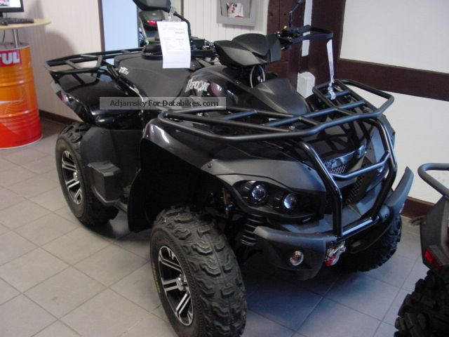 2013 Triton  Defcon Vorf 700 4x4 EFI. Vehicle Motorcycle Quad photo