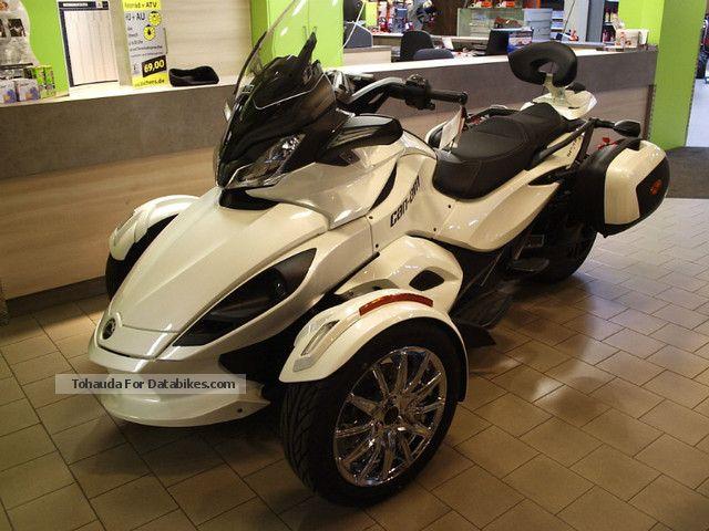 2012 Can Am  Spyder SE5 LTD ST \ Motorcycle Trike photo