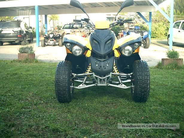 2010 Herkules  Crossroad 300-Adly 300 Motorcycle Quad photo
