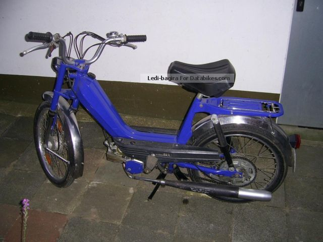 1981 Herkules  M2 Motorcycle Motor-assisted Bicycle/Small Moped photo