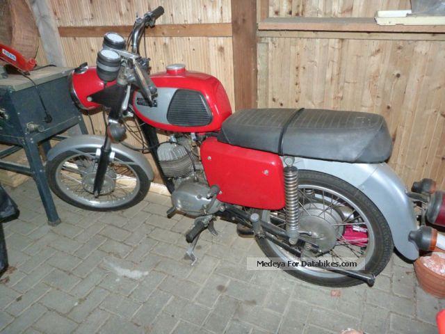 1982 Simson  TS125 Motorcycle Motorcycle photo