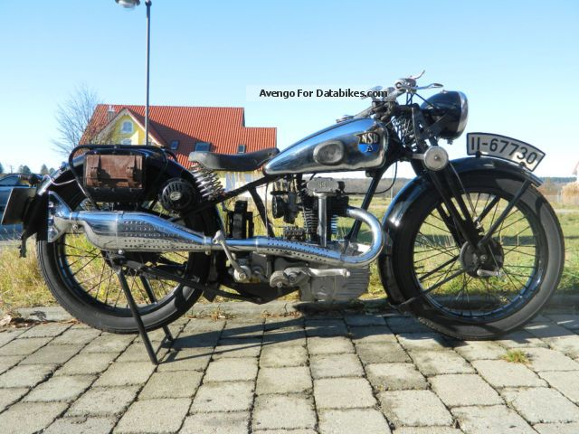 NSU  OSL D 201 4-stroke open valves, sports exhaust 1936 Vintage, Classic and Old Bikes photo