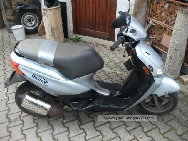 2000 Derbi  Atlantis moped scooter Price negotiable! 35 km / h fast Motorcycle Motor-assisted Bicycle/Small Moped photo