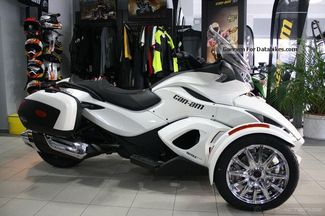 2012 Bombardier Brp Can Am Spyder Roadster St Limited