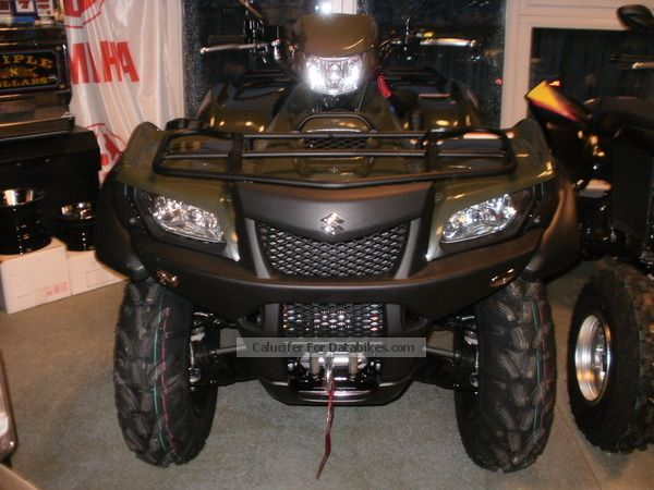 2012 Suzuki  LT-A 750 L2 LoF including approval Motorcycle Quad photo
