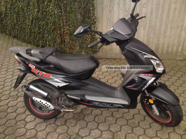 2012 Adly  GTA 50 moped Motorcycle Motor-assisted Bicycle/Small Moped photo