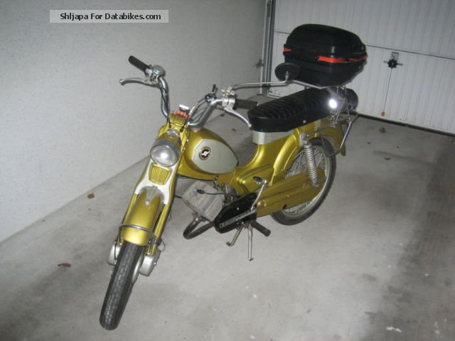 1969 Zundapp  Zündapp C 50 Super Motorcycle Motor-assisted Bicycle/Small Moped photo