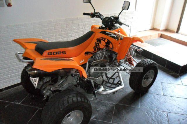 2008 GOES  x 450 Motorcycle Quad photo