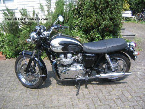 2004 Triumph  bonneville Motorcycle Motorcycle photo