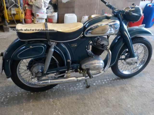 NSU  175 OSB Maxi 1958 Vintage, Classic and Old Bikes photo