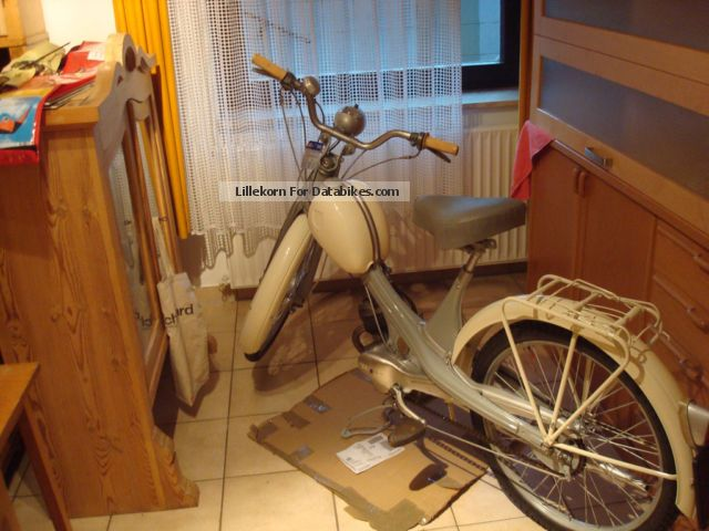 1964 NSU  Quickly N 23 Motorcycle Motor-assisted Bicycle/Small Moped photo