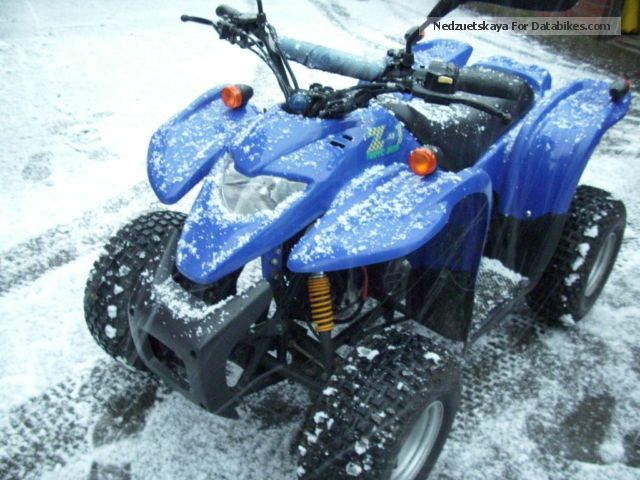 2005 Adly  Moto Atv 50 Motorcycle Quad photo