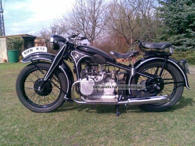 BMW  R restored 12, 1935, bailout 1935 Vintage, Classic and Old Bikes photo