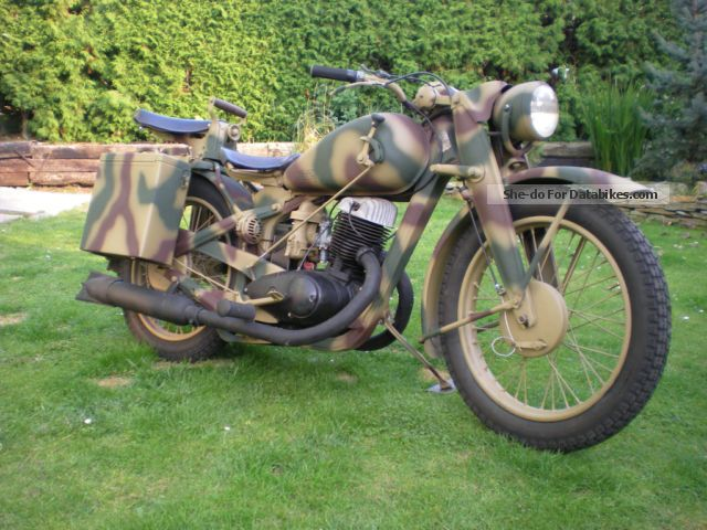 DKW  350-WH NZ1 1944 Vintage, Classic and Old Bikes photo