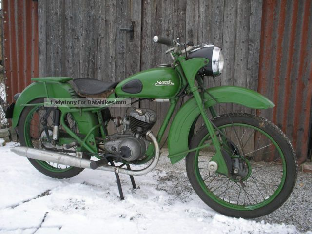 DKW  RT12 5 - Moskwa 1959 Vintage, Classic and Old Bikes photo