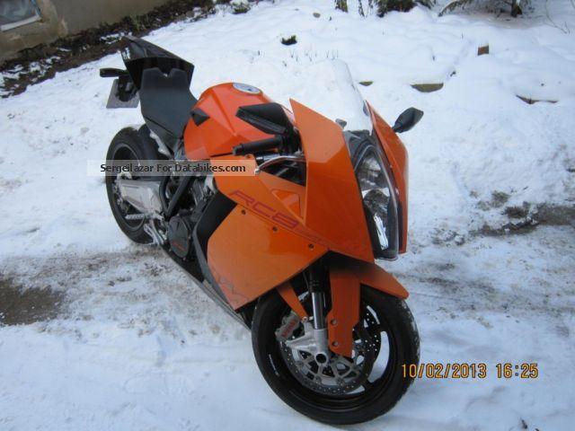 2010 KTM  RC8 Motorcycle Sports/Super Sports Bike photo