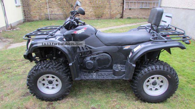 2008 CFMOTO  Explorer Motorcycle Quad photo