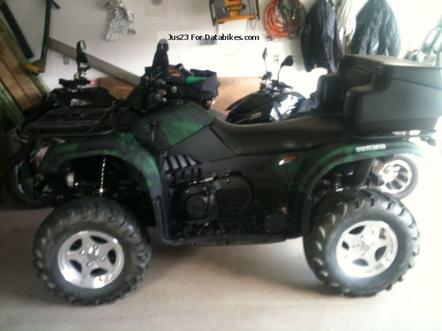 CFMOTO  Atlas Explorer 500-A 4x4 2011 Quad photo