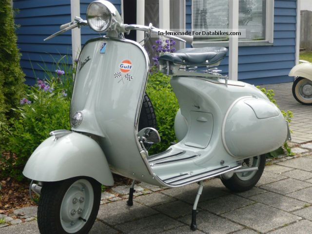 Vespa  ACMA 125 1959 Vintage, Classic and Old Bikes photo