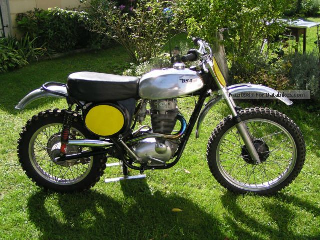 BSA  BSA_B50 MX500 (Motocross) 1971 Vintage, Classic and Old Bikes photo