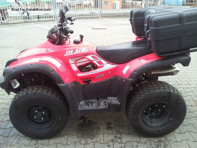2010 TGB  425 LOF approval in new condition with case TGB Motorcycle Quad photo