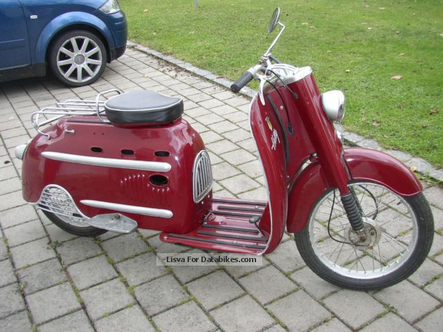 DKW  Hobby scooter 1960 Vintage, Classic and Old Bikes photo