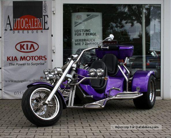 2009 Rewaco  FX4 GT 1.8L Boxer 4-speed, metallic, topcase, etc. Motorcycle Trike photo