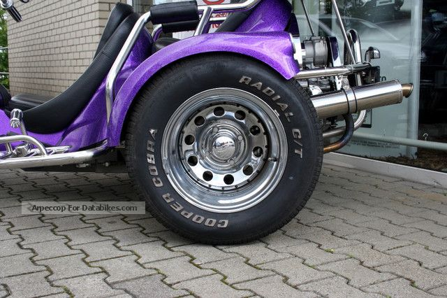 2009 Rewaco FX4 GT 1.8L Boxer 4-speed, metallic, topcase, etc.