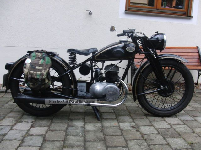 Zundapp  Zündapp DB 200 1950 Vintage, Classic and Old Bikes photo