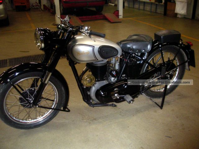 1953 Norton  Big 4 Motorcycle Motorcycle photo