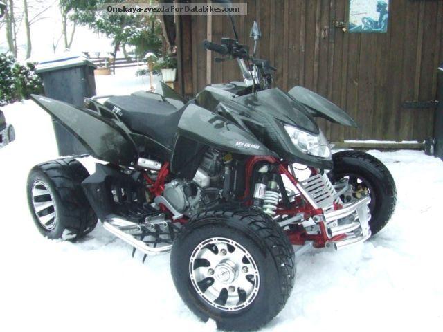 2009 Triton  450 Supermoto Motorcycle Quad photo