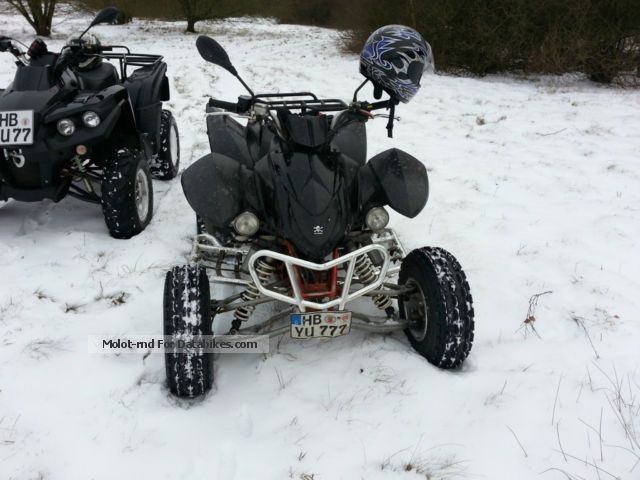 2009 Triton  450 Reactor LOF Motorcycle Quad photo