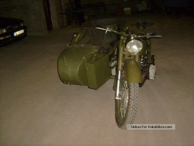 Ural  K 750 WITH DIFERNZIAL spere 1957 Vintage, Classic and Old Bikes photo