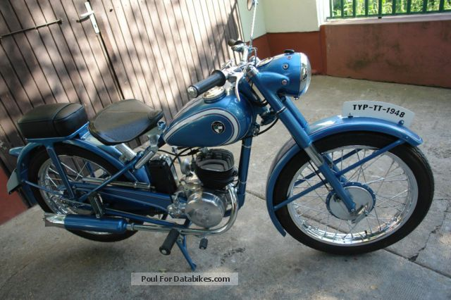 Puch  TT125 1948 Vintage, Classic and Old Bikes photo