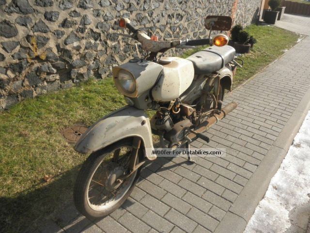 1976 Simson  4-4 hawk built 1976 engine four-course Motorcycle Motor-assisted Bicycle/Small Moped photo