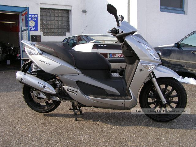 2012 Aeon  Urban 125 Motorcycle Scooter photo