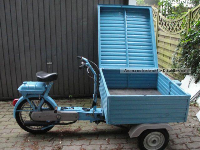 """Caro e vecchio """"Ciao"""" ma quanto vali?  Piaggio__porter_vespa_ciao_moped_scooter_wheeler_1982_1_lgw"""