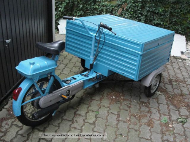 1982 piaggio porter vespa ciao moped scooter wheeler. Black Bedroom Furniture Sets. Home Design Ideas