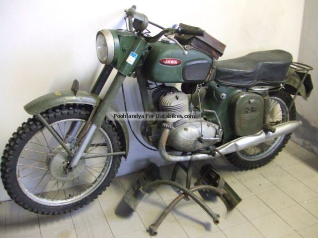 Jawa  ISDE - militar 1959 Vintage, Classic and Old Bikes photo