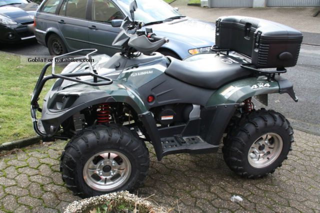 2012 Linhai  420 4x4 Motorcycle Quad photo